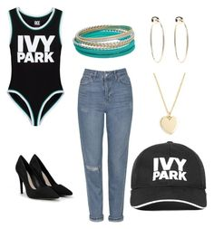 """""""ivy park"""" by lataylor0304 on Polyvore featuring Ivy Park, Topshop, CHARLES & KEITH, Bebe and J.Crew"""