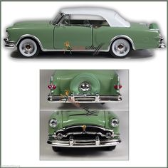 WELLY 1953 Packard Caribbean Soft Top GREEN UN-BOXED FAST PRIORITY SHIPPING | eBay