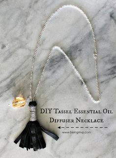 How to make an essential oil diffuser necklace! These would make great gifts as well as a fun  DIY oil class project.