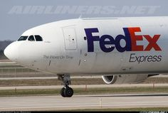 FedEx - Federal ExpressMore: Airbus A300F4-605R More: Grand Rapids - Gerald R. Ford International (Kent County) (GRR / KGRR)More: USA - Michigan, April 25, 2013   Remark Photographer    N669FE (cn 774) Kaitlyn arriving on runway 26L as FedEx 712 Heavy from Memphis.