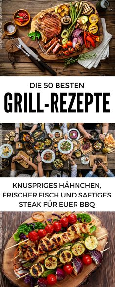 BBQ recipes Now the torch is no longer long! These recipes make you the king of the grill. Here are the best grill recipes for your BBQ Healthy Bbq Recipes, Best Grill Recipes, Barbecue Recipes, Burger Recipes, Grilling Recipes, Pork Recipes, Vegetable Recipes, Cooking Recipes, Kabobs