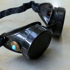 418c30a1b92 amazing Steampunk Victorian Goggles welding Glasses diesel punk--limited  GGG-blue See it