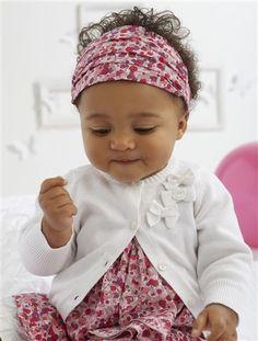 Cardigan fantaisie bébé vertbaudet