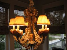 >Seashell Chandeliers – Gorgeous or Gaudy? | Sally Lee by the Sea