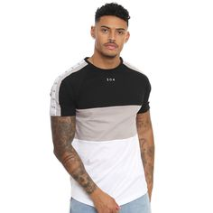 304 Clothing 3 Panel T-Shirt. We are official stockists of 304 Clothing. Casual T Shirts, Cool T Shirts, Tee Shirts, Camisa Polo, My T Shirt, Branded T Shirts, Long Sleeve Shirts, Shirt Designs, Menswear