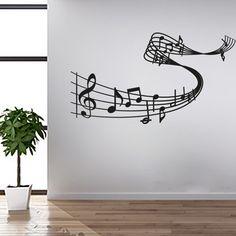 Wandtattoo - Musik