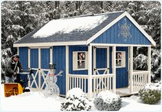 Fairview 12 x 16 Shed with Porch
