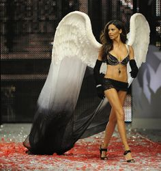 Pin for Later: This Year's Victoria's Secret Fantasy Bra Is Finally Here 2008: The Black Diamond Fantasy Bra Adriana Lima's first Fantasy Bra cost an even $5 million.