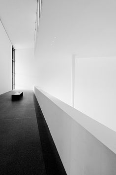 Interior ot the Pinakothek der Moderne in Munich, Germany.