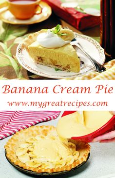 Cool and light this #pie has been the ideal summer #dessert in my family for two generations.