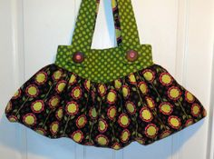 Tote Slouch bag hobo bag Xtra large black lime by jewellgem, $50.00