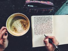 Sundays are for coffee and journaling. And also I have to work but let's just gloss over that part shall we? Study Journal, Journal Diary, Journal Notebook, Cool Stuff, Neat Handwriting, Morning Pages, Bullet Journal Inspiration, Journal Ideas, Journaling