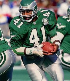 252a8b8c8fb Keith Byars - Philadelphia Eagles - RB Eagles Kelly Green, Baltimore Colts,  Eagles Nfl