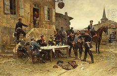 Alphonse Marie de Neuville:The Spy 1880