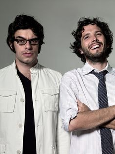 Flight of the Conchords:  Jemaine Clement + Bret McKenzie