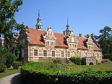 Vrams Gunnarstorp Castle (Swedish: Vrams Gunnarstorps slott) is a castle in Bjuv Municipality, Scania, in southern Sweden. It was built in the 17th century by Jørgen Vind.