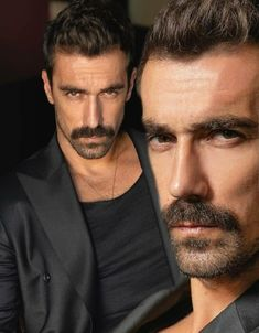 Mustache Men, Moustache, Mejores Series Tv, Find A Husband, Black And White Love, Actrices Hollywood, Photos Tumblr, Male Man, Handsome Actors