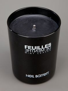 NEIL BARRETT - potted candle
