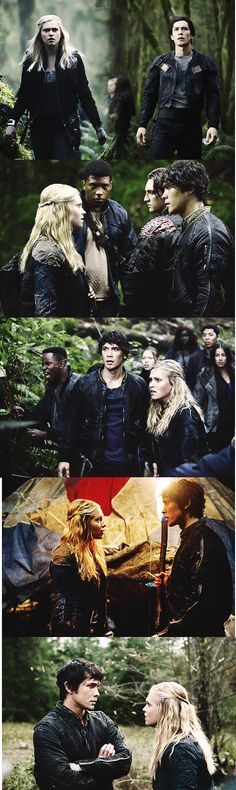 Bellamy & Clarke from The 100. I'm pretty sure one of the main reasons I love them is because even when they're mad enough to tear each other's heads off, they respect the other person enough to listen. Don't rush things, please, CW!