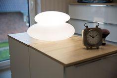 Galets lumineux blanc changement couleur LEDs