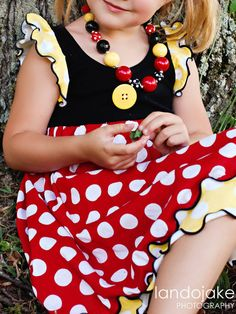 Bridget and Co All about Dots Disney  by bridgetandco on Etsy, $45.00