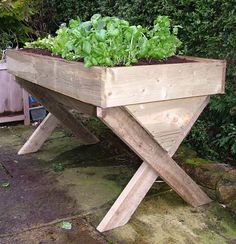 Heritage 1.8m Manger Raised Vegetable Bed