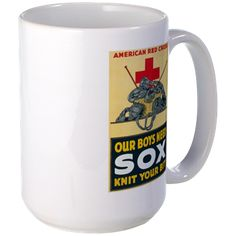 Our Boys Need Sox Mug http://www.cafepress.com/historicmugs.971958355