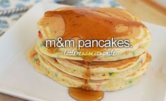 m and m pancakes