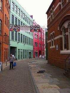 Entrance to the Custard Factory,Birmingham, UK by DaveOnFlickr, via Flickr #england #birmingham