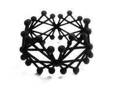 All Terrain Bangle - Project Future by Superlora #3dprinting #3dprintedjewelry