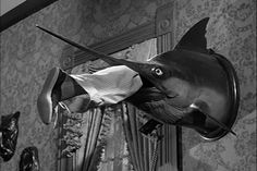 Sarge note: Addams Family Home Decor - the classic swordfish.