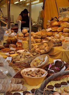 Outdoor market in Belgium