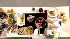Receta de Tapas queso brie con cranberries y turrón creada por Chef Marilyn, perfecta para #UnaBuenaTarde #ChefMarilyn