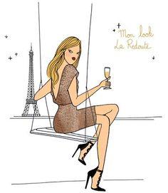 Les petites tenues de soirée de la Parisienne