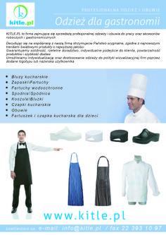 Odzież gastronomiczna.