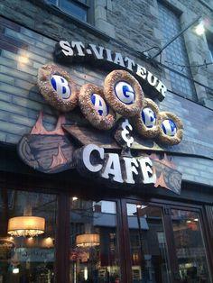 St-Viateur Bagel & Café in Montreal, QC