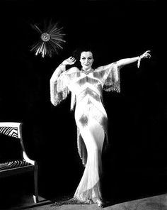 Joan Crawford fotografiada por George Hurrell, 1936