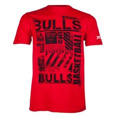 Chicago Bulls Short Sleeve Tee