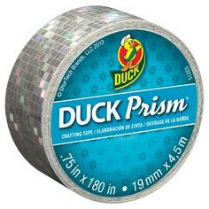 Home Accessories DIY Duct Tape - Ducklings® Duck Glitter® Mini Crafting Tape, Pink Duct Tape Projects, Glitter Projects, Duck Tape Crafts, Glitter Crafts, Tapas, Masking Tape, Washi Tape, Mini Rolls, Decorative Tape