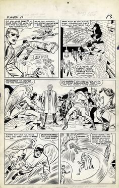 Original art by Jack Kirby, Chic Stone in category Strips