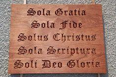 Five Solas - Sola Gratia, Sola Fide, Solus Christus, Sola Scriptura, Soli Deo Gloria Biblical Quotes, Bible Verses, 5 Solas, Grace Alone, Sola Scriptura, Soli Deo Gloria, Reformed Theology, In Christ Alone, Walk By Faith