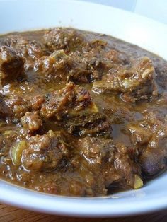 Curried Goat with Rice and Peas – Girl Interrupted Eating Jamaican Dishes, Jamaican Recipes, Curry Recipes, Guyanese Recipes, Jamaican Cuisine, Goat Recipes, Indian Food Recipes, Cooking Recipes, Oven Recipes