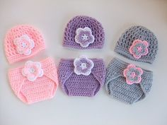 Crocheted Baby Hat- Diaper Cover, You pick size and color, Ready to Ship on Etsy, $23.00