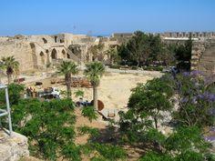 English: The courtyard of Kyrenia Castle