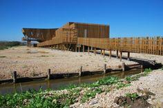 EVOA – Environmental Interpretation Center / Maisr Arquitetos-Lezíria, Portugal