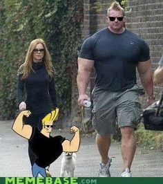 Real Life Johnny Bravo by ben - A Member of the Internet's Largest Humor Community Johnny Bravo, It's Johnny, Memes Humor, Funny Memes, Jokes, Videos Funny, Funny Comedy, Funny Shit, The Funny