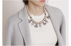진주,태슬, 목걸이, 커스텀, 볼드, 목걸이 액세서리 주얼리 쇼핑몰 나디아제이 custom,fashion,jewelry,jewellry,accessories,necklaces,necklace,nadiaj pearl,tassel http://buff.ly/1ucN5I2