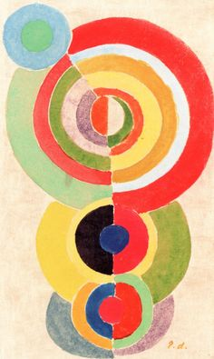 Rhythm I Robert Delaunay - circa 1934 Private collection Painting Height: 19 cm in.), Width: 12 cm in.) The Athenaeum - Rhythm I (Robert Delaunay - ) Sonia Delaunay, Robert Delaunay, Abstract Expressionism, Abstract Art, Rhythm Art, Painting Prints, Canvas Prints, Merian, Oil Painting Reproductions