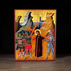 Christ Carrying the Cross Icon - F112 - Legacy Icons