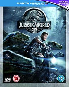 Jurassic World [Blu-ray 3D] @ niftywarehouse.com #NiftyWarehouse #JurassicPark #Jurassic #Dinosaurs #Film #Dinosaur #Movies